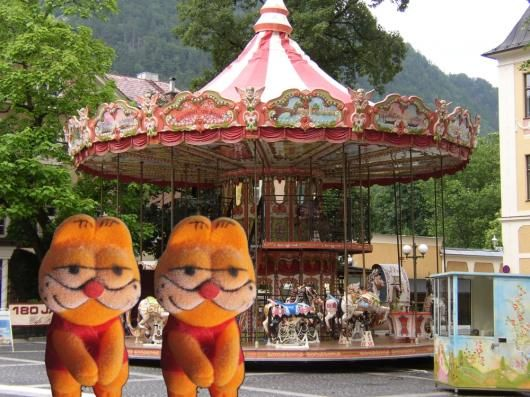 Garfields in Bad Ischl